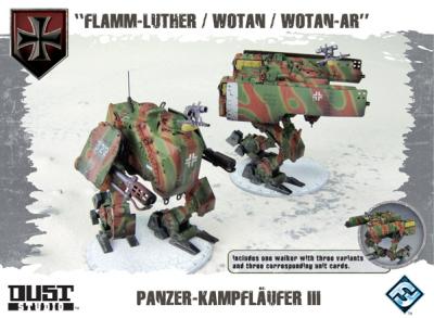 """Dust Tactics: Panzer-Kampfläufer III - """"Flamm-Luther / Wotan / Wotan-AR"""""""
