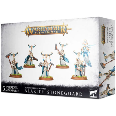 Warhammer: Age of Sigmar - Lumineth Realm-Lords: Alarith Stoneguard