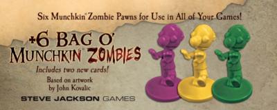 +6 Bag O' Munchkin Zombies