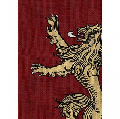 A Game of Thrones: The Card Game - House Lannister Art Sleeves (50)