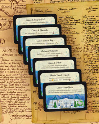 Legacy: The Testament of Duke de Crecy – Extra Mansion Cards