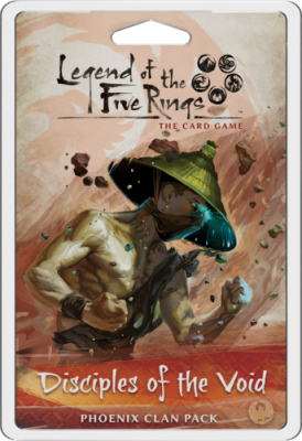 Legend of the Five Rings: The Card Game - Disciples of the Void Dynasty Pack