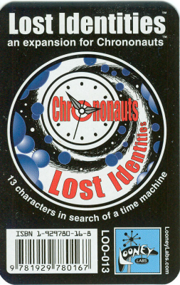 Chrononauts: Lost Identities