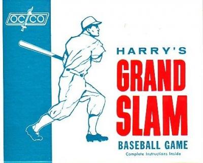 Harry's Grand Slam Baseball Game