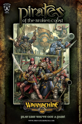 Forces of Warmachine: Pirates of the Broken Coast