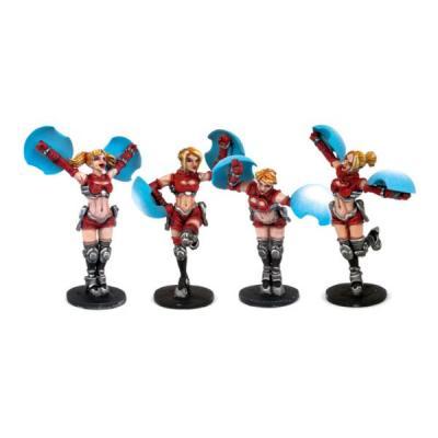 Dreadball: Cheerleaders