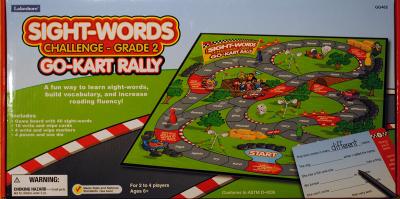Go-Kart Rally Sight-Words Game: Grade 2