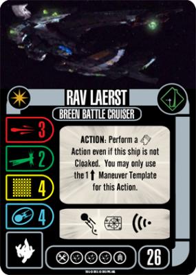 Star Trek: Attack Wing – Rav Laerst Expansion Pack