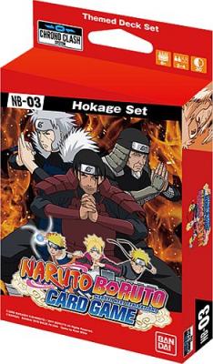 Naruto Boruto Card Game: Hokage Set