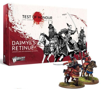 Test of Honour: The Samurai Miniatures Game – Daimyō's Retinue