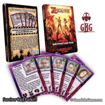 Zpocalypse: Survivor Pack 5