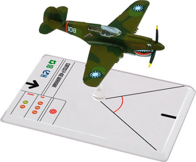 Wings of Glory: WW2 Airplane Pack - Curtiss P-40E Warhawk (Hill)