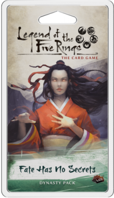 Legend of the Five Rings: The Card Game - Fate Has No Secrets Dynasty Pack