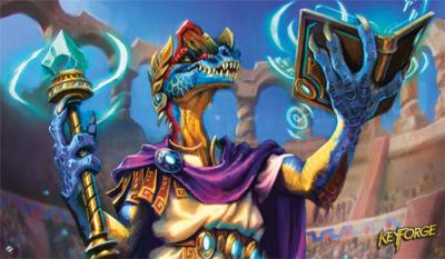 KeyForge: Worlds Collide - Philophosaurus Playmat