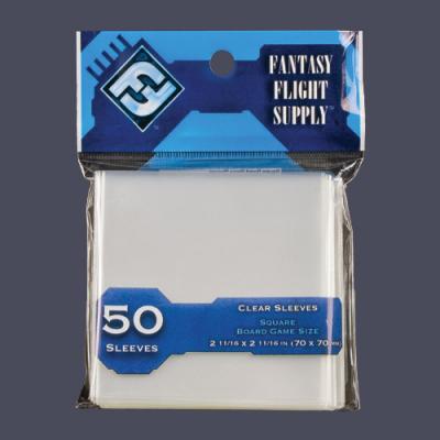 FFG Sleeves (Light Blue) - 50x - 70x70mm