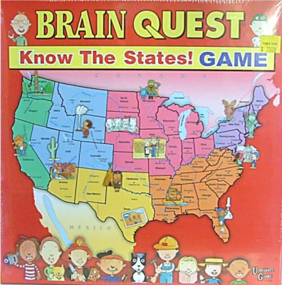 Brain Quest Know the States! Geography Game