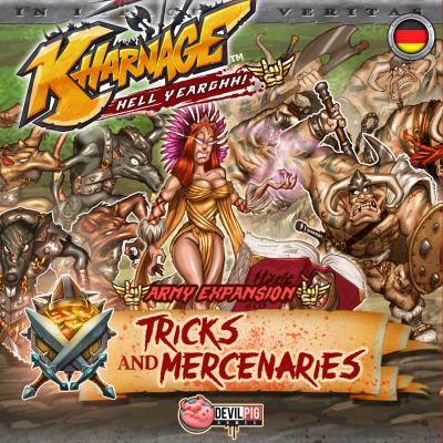 Kharnage: Tricks & Mercenaries – Army Expansion