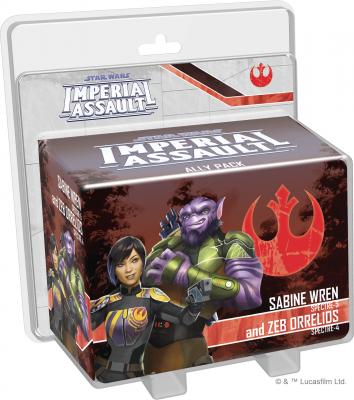 Star Wars: Imperial Assault – Sabine Wren and Zeb Orrelios Ally Pack