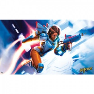 KeyForge: Worlds Collide - Tactical Officer Moon Playmat