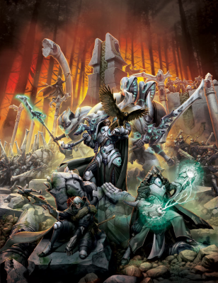 Forces of Warmachine: Retribution of Scyrah