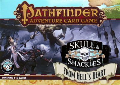 Pathfinder Adventure Card Game: Skull & Shackles – From Hell's Heart Adventure Deck