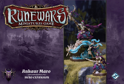Runewars Miniatures Game: Ankaur Maro – Hero Expansion