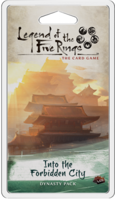 Legend of the Five Rings: The Card Game - Into the Forbidden City Dynasty Pack