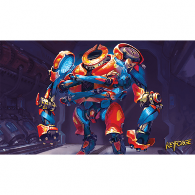 KeyForge: Worlds Collide - Titan Guardian Playmat