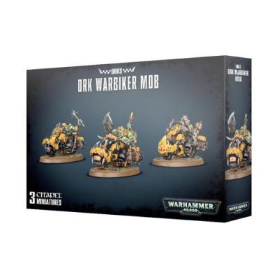 Warhammer 40,000: Orks - Ork Warbiker Mob
