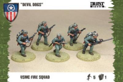 "Dust Tactics: USMC Fire Squad - ""Devil Dogs"""