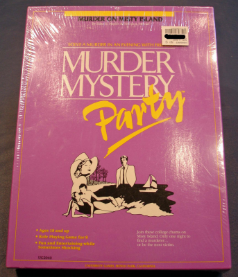 Murder Mystery Party: Murder on Misty Island