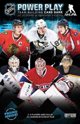 NHL Power Play Team-Building Card Game