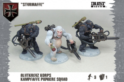 "Dust Tactics: Blutkreuz Pioneer Squad - ""Sturmaffe"""