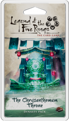 Legend of the Five Rings: The Card Game - The Chrysanthemum Throne Dynasty Pack