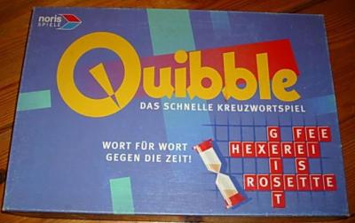 Quibble Das schnelle Kreuzwortspiel