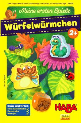 Meine ersten Spiele: Würfelwürmchen