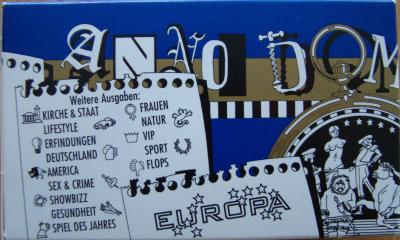 Anno Domini: Europa