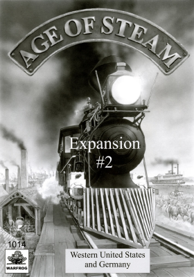Age of Steam Expansion #2: Western US and Germany