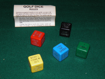 Golf Dice