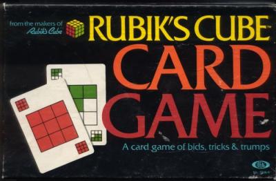 Rubik's Cube Card Game