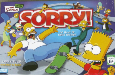 Sorry! The Simpsons Edition