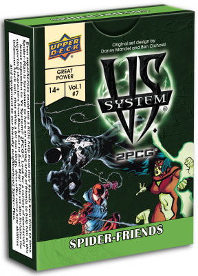 Vs. System 2PCG: Spider-Friends