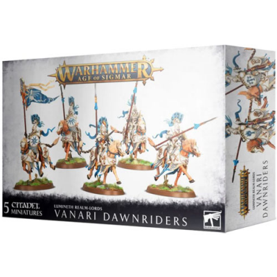 Warhammer: Age of Sigmar - Lumineth Realm-Lords: Vanari Dawnriders