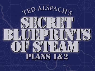Age of Steam Expansion: Secret Blueprints of Steam Plans 1 & 2