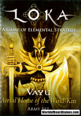LOKA: A Game of Elemental Strategy - Vayu, Aerial Home of the Wind-Kin