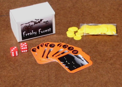 Freaky Forest: The Halloween Game