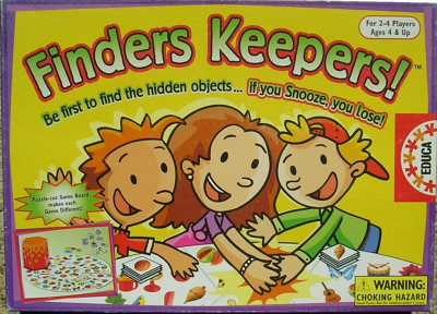 Finders keepers!