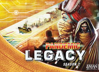 Pandemic Legacy: Seizoen 2 - Yellow box