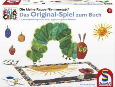 Die kleine Raupe Nimmersatt: Das Original-Spiel zum Buch