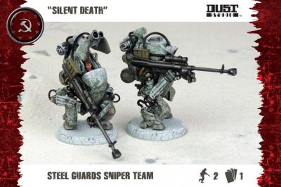 "Dust Tactics: Steel Guard Sniper Team - ""Silent Death"""